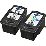 Canon PG510 & CL511 Remanufactured Black & Tri-colour Ink Cartridges for use with Canon Pixma MP230, MP240, MP250, MP252, MP260, MP270, MP272, MP280, MP282, MP330, MP480, MP490, MP492, MP495 and MP499 Printers by Ink Trader