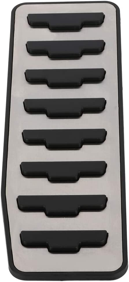 INEEDUP Dead Pedal Cover Auto Aluminium Left Foot Rest Pedal Compatible with12 13 14 15 16 17 18 19 Range Rover Evoque Discovery Sport