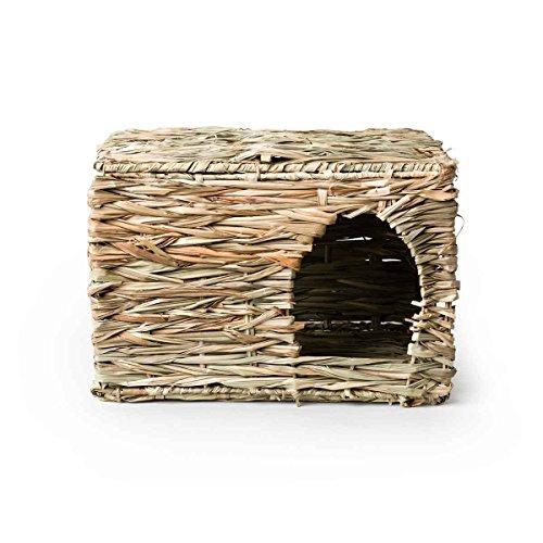 Prevue Pet Folding Woven Grass Rabbit Hut, Extra - Hut Online