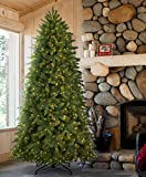 Tree Classics Classic Fraser Fir Artificial Christmas Tree, 9 Feet Prelit, Clear Lights