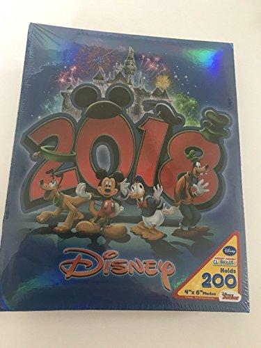 Disney Mickey Mouse 2018 Royal Blue 200 Picture Photo Album 4x6 - Monogram Photo Album