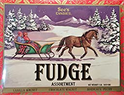 See\'s Candies Fudge Assortment. 16 oz Pack of 1