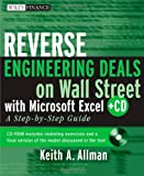 Reverse Engineering Deals on Wall Street with Microsoft Excel, Keith A. Allman, 0470242051