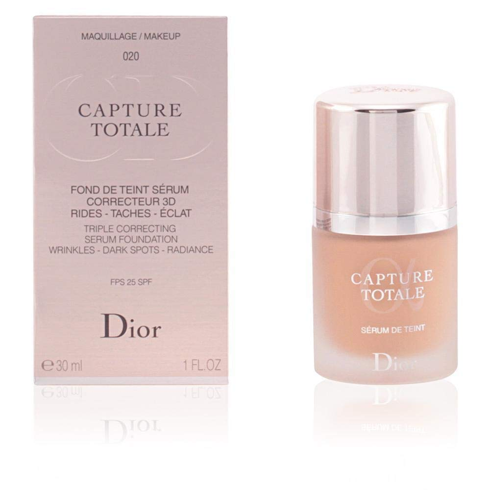 Christian Dior Capture Total Triple Correcting Serum SPF 25 Foundation, No. 030/ Beige, Medium, 1 Ounce