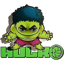 3DLightFX Marvel Avengers Hulk Mini 3D Deco Light
