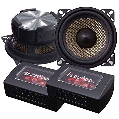 In Phase XTC4CX Lautsprecher-System (3-Wege-System mit Verteiler, 300 W maximale Belastbarkeit)
