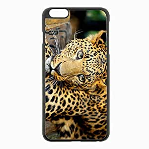 iPhone 6 Plus Black Hardshell Case 5.5inch - leopard predator Desin Images Protector Back Cover