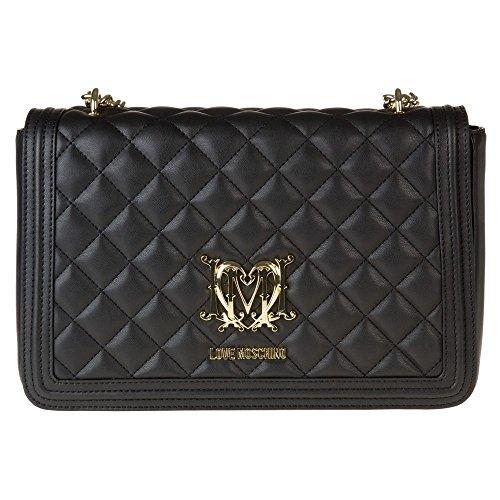 love-moschino-quilted-chain-womens-handbag-black