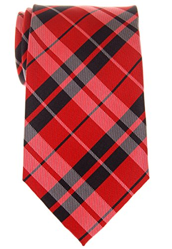 Retreez Preppy Plaid Check Woven Microfiber 3.15