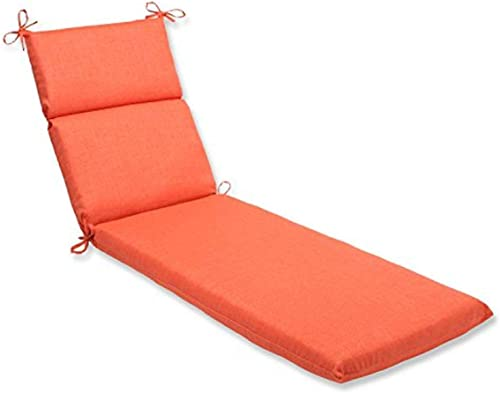 Deal of the week: Pillow Perfect Outdoor/Indoor Rave Coral Chaise Lounge Cushion