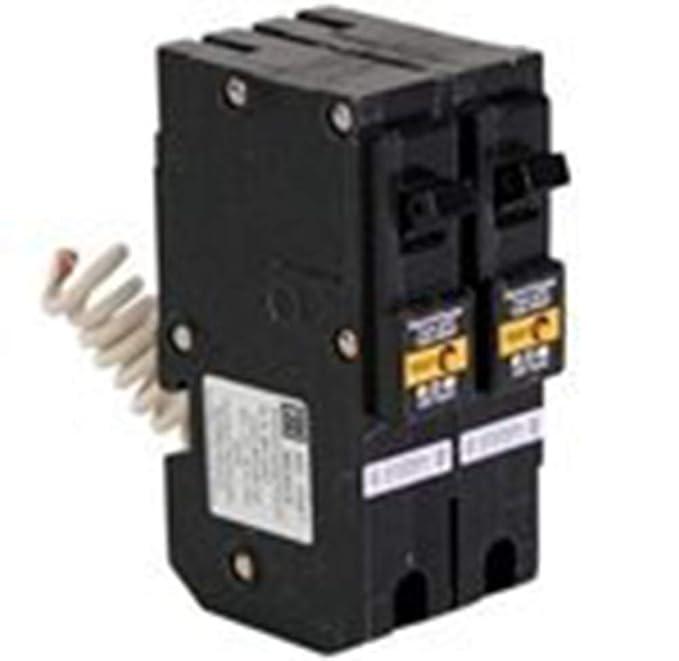 Eaton BRL220CAF Plug-In Mount Type BR Combination Arc Fault Circuit Breaker 2-Pole 20 Amp 120/240 Volt AC Fire-Guard