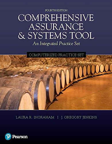 Book cover from Computerized Practice Set for Comprehensive Assurance & Systems Tool (CAST) (4th Edition) by Laura R. Ingraham