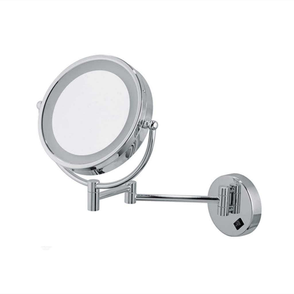 CFJKN LED照明付きメイクアップミラー 5倍調節可能な拡大鏡 CFJKN 壁取り付けミラー 360度拡張可能 B07PMD4393 回転式化粧鏡 8.5inch 8.5inch 9884522024369 B07PMD4393 8.5inch, 十島村:5a6af5d1 --- dqfansurvey.online