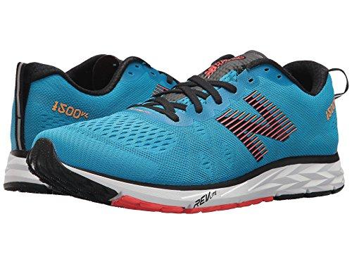 [new balance(ニューバランス)] メンズランニングシューズ?スニーカー?靴 1500v4 Maldives Blue/Black/Flame/Impulse 11 (29cm) D - Medium
