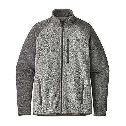 Patagonia Men's Better Sweater Jacket (Medium, Stonewash w/Nicke)