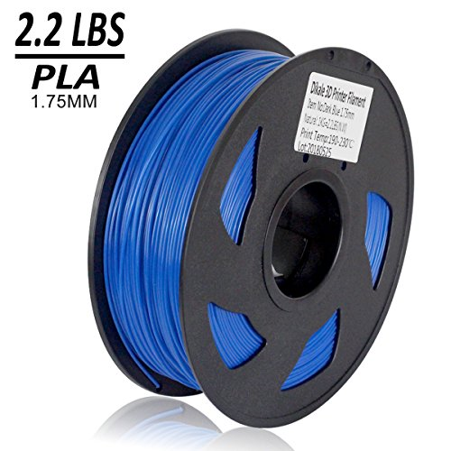 Dikale-PLA-3D-Printer-Filament-1KG335m1099ft-175mm-Dimensional-Accuracy-002-mm-1KG-Spool-175-mm-Blue