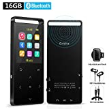 16GB Bluetooth MP3 Player with FM Radio/ Voice Recorder, Lossless Sound, Metal Touch