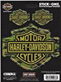 chroma graphics harley davidson - Chroma Graphics Harley Davidson Bar and Shield Camouflage Decals