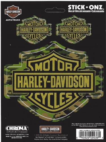 Chroma Graphics Harley Davidson Bar and Shield Camouflage ()