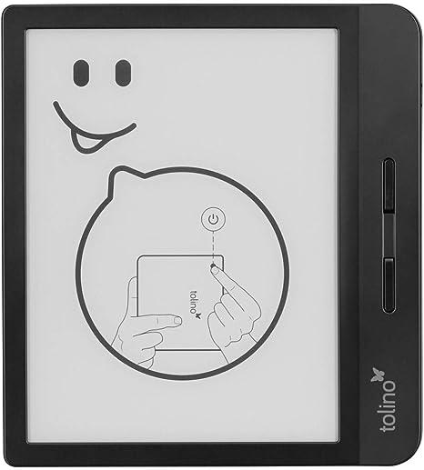 Tolino Vision 5 eBook-Reader 17.8cm (7 Zoll) Negro: Amazon.es: Electrónica