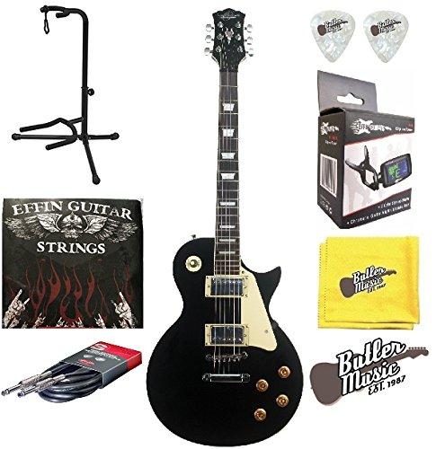 Oscar Schmidt oe20b Single Cutaway Guitarra eléctrica w/, cuerdas, afinador y bien Plus Encore: Amazon.es: Instrumentos musicales