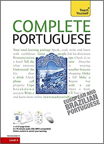 Amazon complete portuguese beginner to intermediate course complete portuguese beginner to intermediate course learn to read write speak and understand a new language teach yourself 1st edition m4hsunfo