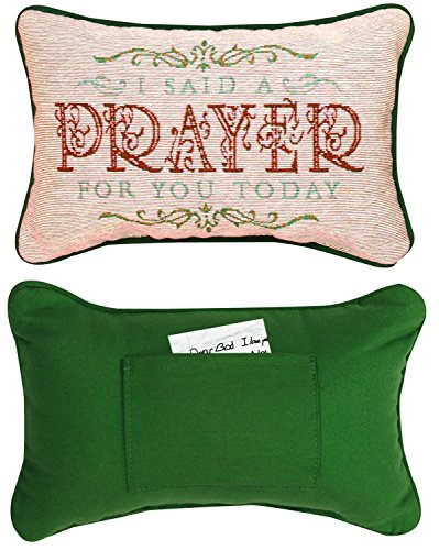 Manual Woodworkers & Weavers Daily Devotion Throw Pillow, 12.5 x 8.5