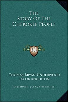 Book The Story of the Cherokee People