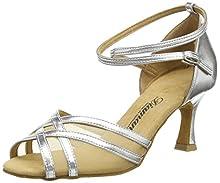 Diamant 035-087-013, Zapatos de Baile Mujer, Plateado (Silber), 40 EU (talla del fabricante: 6.5 UK)