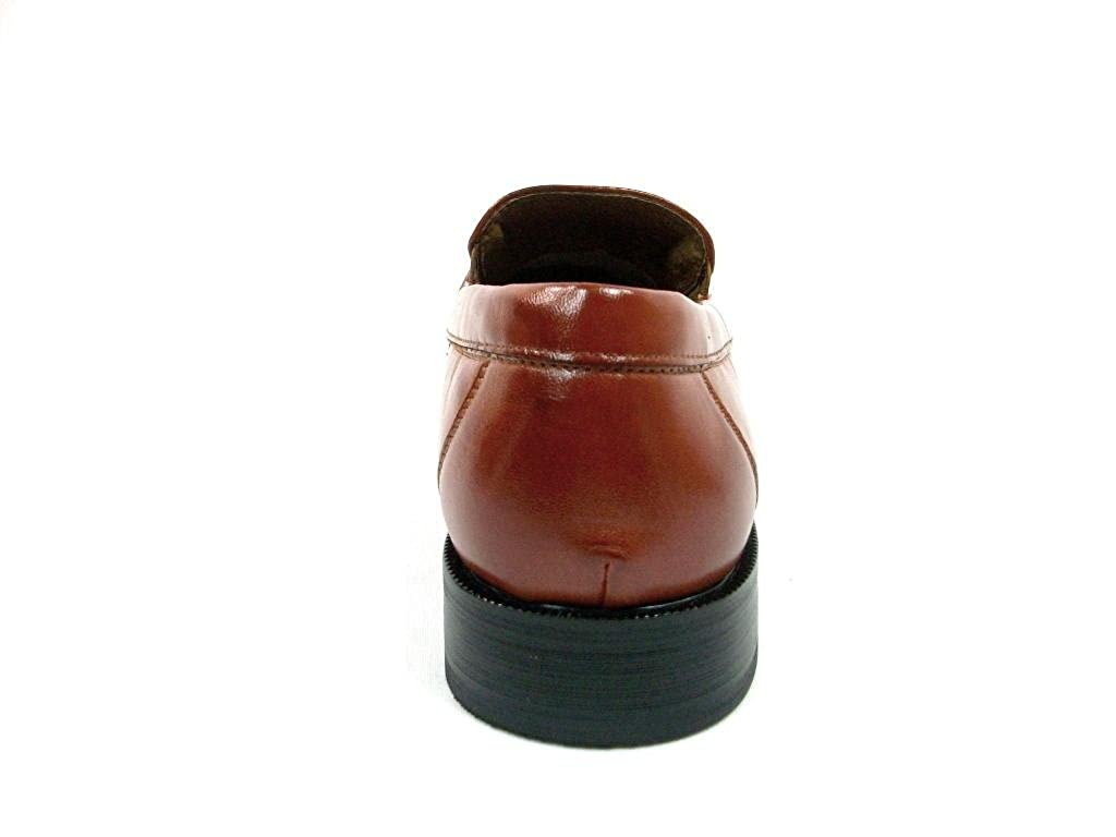 Delli Aldo Mens 19269 Slip On Penny Loafer Dress Shoes
