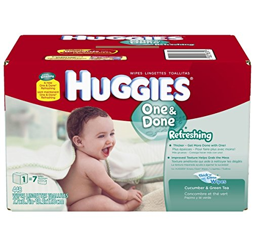 Huggies Naturally Refreshing Wipes (Huggies One & Done Refreshing Baby Wipes Refill - 448ct)