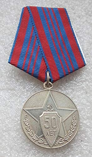 50 Years of the Soviet Police USSR Soviet Union Russian Communist Bolshevik Medal