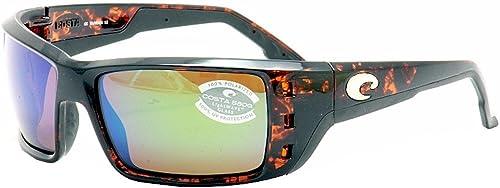 NEW IN BOX! COSTA DEL MAR ashwood//green mirror PERMIT POLARIZED 580P sunglasses