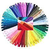 Zipperstop Wholesale YKK® #3 Skirt & Dress Zippers 16 Inch - Assortment of 25 Different Colors (25 Zippers)