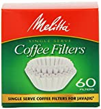 Melitta 63229 Single Serve Coffee Filters For JavaJigTM 60 Count (Pack of 4 x 4 (960 Count))