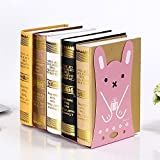 Umiko Cute Funny Rabbit Bookends for Kids Animal