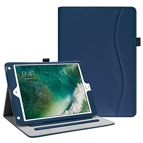 Fintie iPad 9.7 2018 2017 / iPad Air 2 / iPad Air Case - [Corner Protection] Multi-Angle Viewing Folio Cover w/Pocket