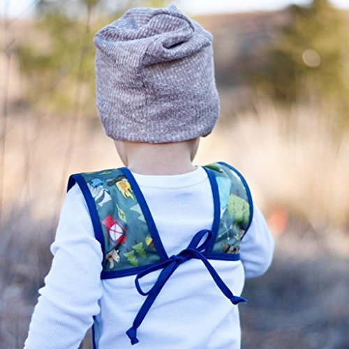 Camping Bears Toddler Bapron for 6m-3T by BapronBaby (Image #3)