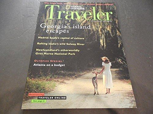 National Geographic Traveler Jul-Aug 1996, Georgia's Islands, Madrid -