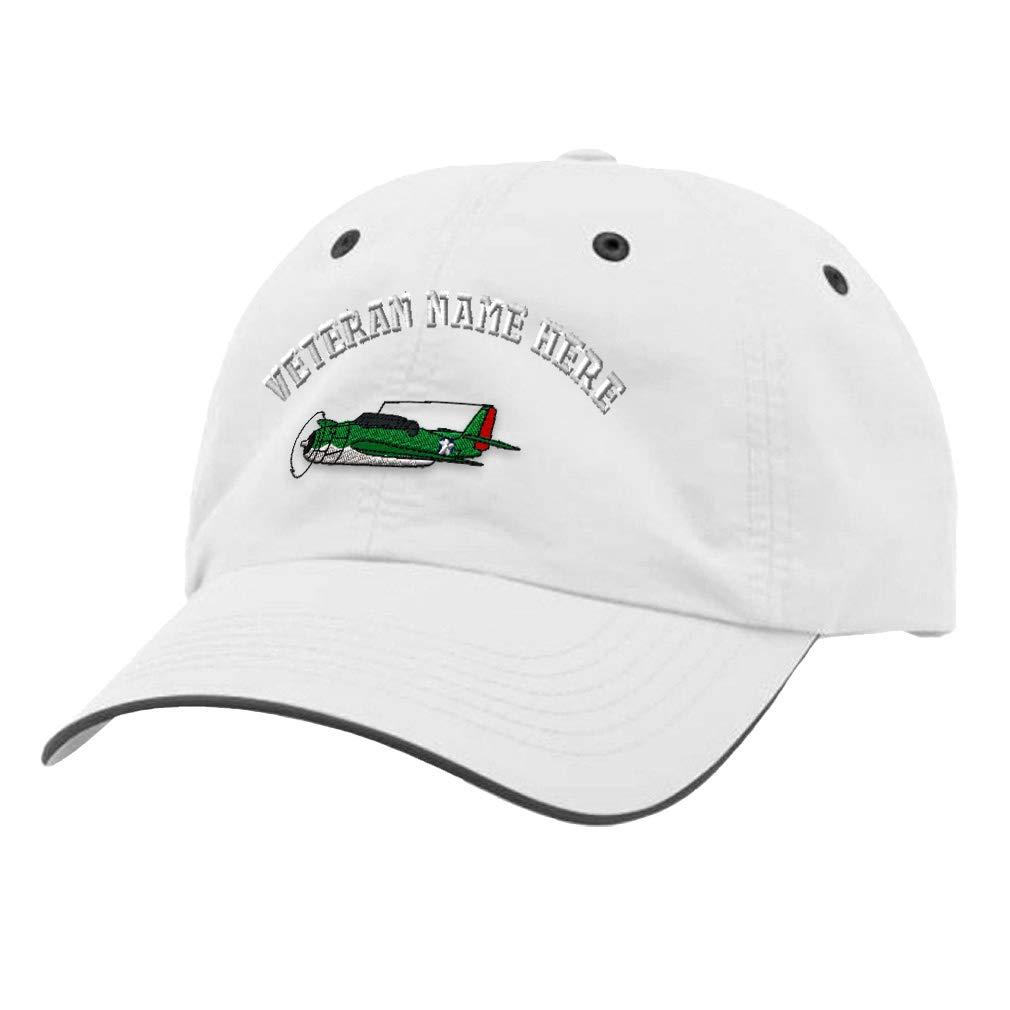 Custom Richardson Running Cap T B F Avenger Embroidery Veteran Name Polyester