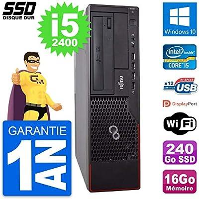 Fujitsu PC Esprimo E700 E90+ DT Intel i5-2400 RAM 16GB SSD 240GB ...