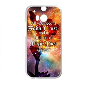 All You Need Is Faith ,Crust And A Little Bit Of Pixie Design Hard Case Cover Protector For HTC M8