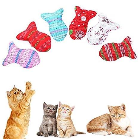 Broadroot Varillas de Peluche para Gatos, Caña de Gatos, interactivas, Juguetes para Mascotas: Amazon.es: Productos para mascotas