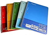5 Subject College Ruled Notebook 48 pcs sku# 1858053MA