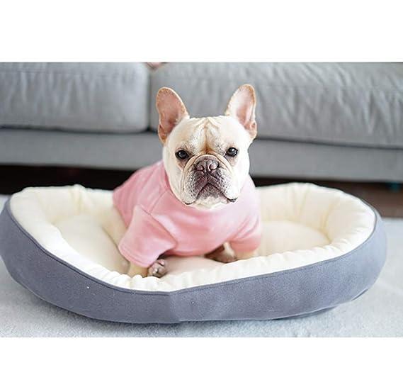 YYZ Cama de Mascota, Suave Confortable Sencillo Cuatro Estaciones universales Ambos Lados Pueden ser utilizados para Perros pequeños y medianos- Lavable en ...