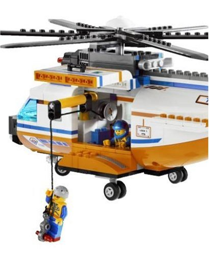 Lego City Model 7738 Coast Guard Helicopter Life Raft Amazon