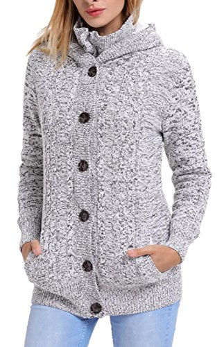 Lined Cardigan Sweater - 7