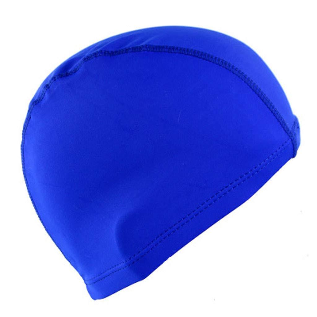 Coohole Swiming Cap Ergonomic Design Comfortable Fit Swim Caps Waterproof Ear Protector Swimming Cap Unisex Adult Kids Children