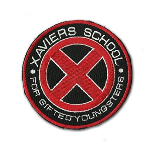 X-men Xavier's School For Gifted Youngsters Patch 7.5cm Logo Sew Ironed On Badge Embroidery Applique (Puff Embroidery)