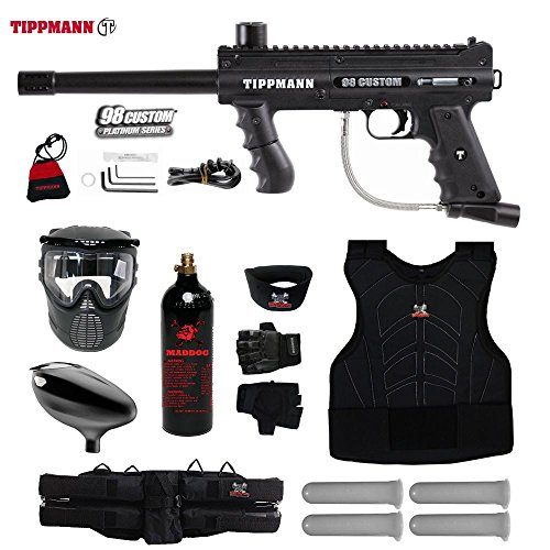 Padded Deluxe Rifle Sling (MAddog Tippmann 98 Custom Starter Protective CO2 Paintball Gun Package - Black)